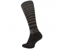 EVOC ponožky - SOCKS LONG CARBON GREY
