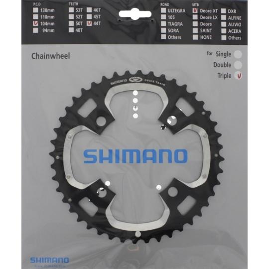 SHIMANO převodník XT FC-M770 44 z 10 spd trojpřevodník