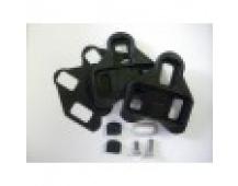Campagnolo Plastové zarážky pro pedály Pro-Fit, černé (bez výkyvu)