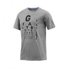 GIANT Eye Chart T-Shirt-grey