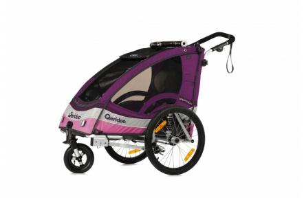 QERIDOO Sportrex 1 vozík - violet