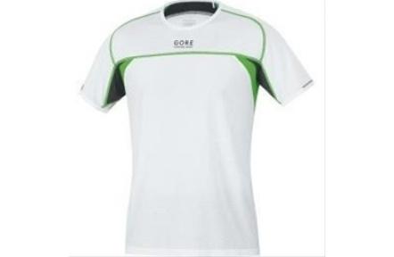 GORE Flash Shirt-white/kiwi