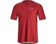GORE M Line Brand Shirt-red-L