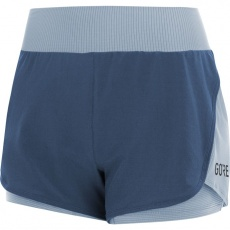 GORE R7 Women 2in1 Shorts-deep water blue/cloudy blue
