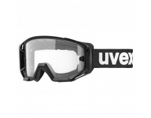 20 UVEX ATHLETIC, BLACK MAT, SL CLEAR (2028)