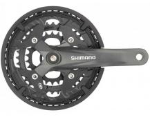 Kliky Shimano Acera FC-M391 9kol 170mm 48x36x26 na 4hran barva černá