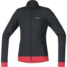 GORE C3 Women WS Thermo Jacket-black/hibiscus pink
