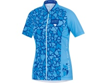 GORE Element Lady Love Camo Jersey-waterfall/ice blue