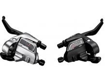 SHIMANO řad/brzd. páka ALIVIO ST-T4000 MTB/trek pro V-brzdy levá 3 rychl 3 prstá černá