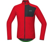 GORE C5 Thermo Trail Jersey-red/black