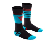 DAINESE HG SOCKS LIMO/HAWAI-OCEAN/HIGH-RISK-RED