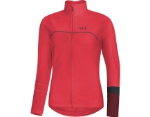 GORE C5 Women Thermo Jersey-hibiscus pink/chestnut red