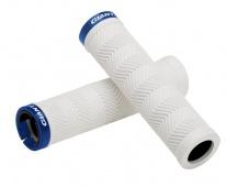 GIANT Sole-O MTB white Grip w/team blue Lock-on