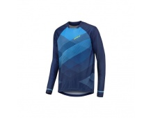 GIANT dres Transfer LS Jersey-blue