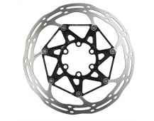 00.5018.037.016 - SRAM ROTOR CNTRLN 2P 140MM BLACK ST ROUNDED