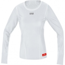 GORE Base Layer WS Lady Thermo Shirt long-light grey/white