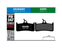 GALFER destičky HOPE/SHIMANO FD247 standart