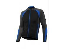 GIANT Streak L/S Jersey black/blue