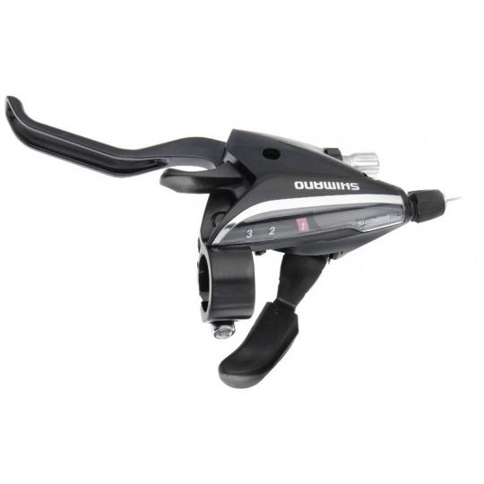 SHIMANO řad/brzd. páka ACERA ST-EF65 MTB/trek pro V-brzdy levá 3 rychl 2 prstá černá