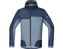 GORE C5 GTX Active Trail Hooded Jacket-deep water blue/cloudy blue