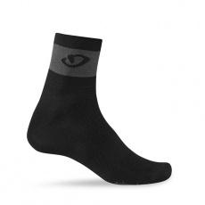 GIRO ponožky Comp Racer-black/dark shadow