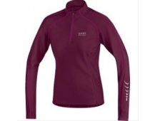 GORE Contest Thermo Lady Jersey-shiraz red/thai pink