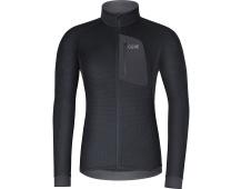 GORE M Thermo Shirt-black/terra grey