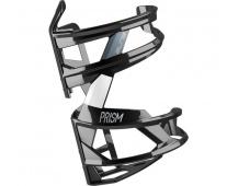 ELITE košík PRISM RIGHT černý lesklý/bílý
