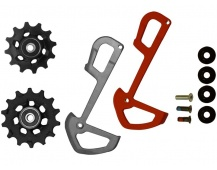 11.7518.078.000 - SRAM RD X01 EAGLE PULLEYS AND INNER CAGE RED