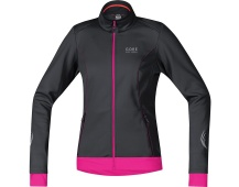 GORE Element Lady WS Soft Shell Jacket-black/magenta
