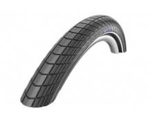 Schwalbe plášť Big Apple 20x2.0 RaceGuard černá+reflexní pruh