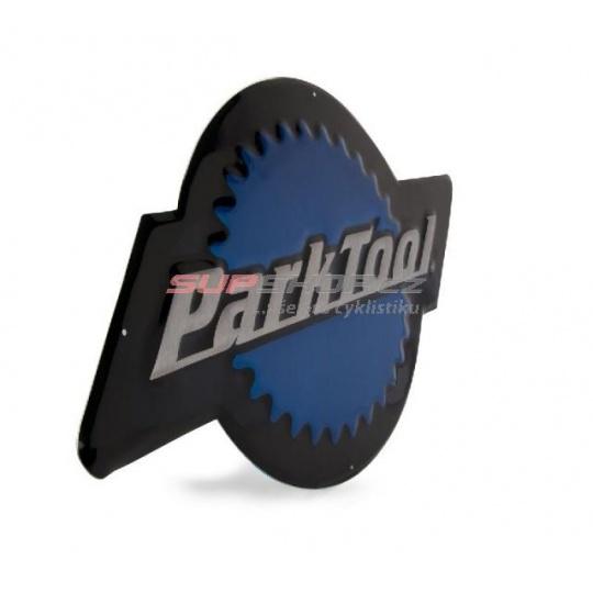 PARK TOOL Logo Park Tool hliníkové 53x29 cm
