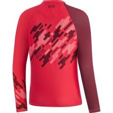 GORE C5 Women Trail 3/4 Jersey-hibiscus pink/chestnut red