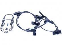 Hydraulická ráfková brzdy Magura HS11 - přední + zadní / 600 + 1750mm
