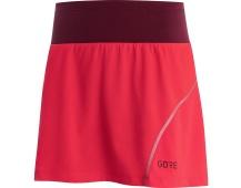 GORE R7 Women Skort-hibiscus pink/chestnut red-40