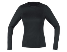 GOREM Women Base Layer Thermo Long Sleeve Shirt-black