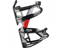 ELITE košík PRISM RIGHT černý lesklý/červený