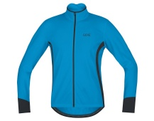 GORE C5 Thermo Jersey-dynamic cyan/black