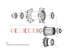 11.1918.053.001 - AXLE REAR ZIPP 177D DB AXLE ONLY