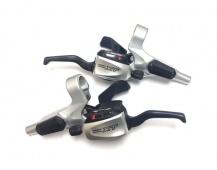 Řadící-brzdové páky SHIMANO Deore XT ST-M766- ST-M765 Dual Control Disc pár levá + pravá