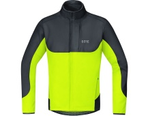 GORE C5 WS Thermo Trail Jacket-blackneon yellow-