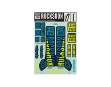 00.4318.021.002 - ROCKSHOX DECAL KIT TLD 35MM BLUE/YELLOW