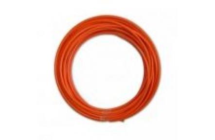 PVDF 5,4mm oranžová