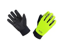 GORE C5 GTX Thermo Gloves-neon yellow/black