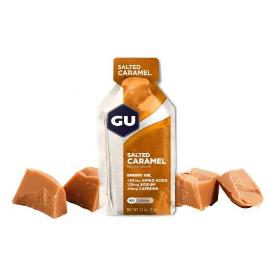 GU Energy Gel 32 g Salted Caramel 1 SÁČEK (balení 24ks)