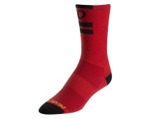 PEARL iZUMi ELITE TALL ponožky, PI CORE červená