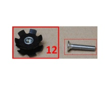 "Headset Star Nut 1 1/4"" (31.8) (FOROD2)"
