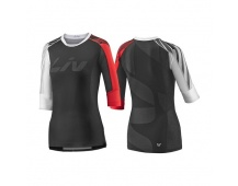 LIV Tangle 3/4 L Off-road Jersey-black/red
