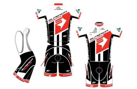 Superior Riders sada dresů a kraťasy
