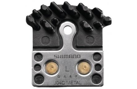 SHIMANO brzdové destičky J04C kovové s chladičem MTB